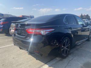 Toyota Camry hybrid  - 2018 Black 2.5L