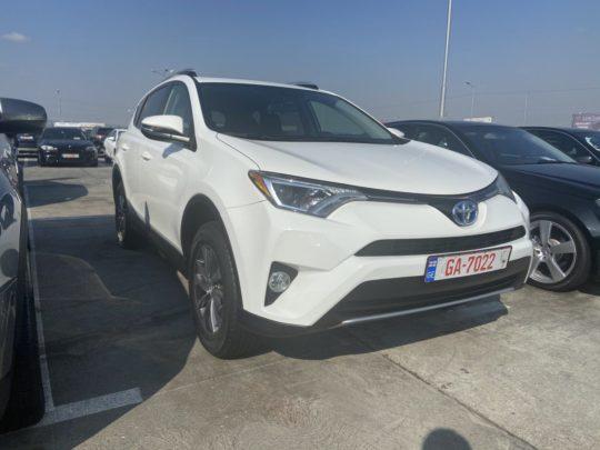 Toyota Rav4 H Xle - 2016 ГИБРИД White 2.5L