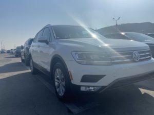 Volkswagen Tiguan S - 2018 White 2.0L