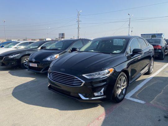 Ford Fusion - 2019 Black 1.5L