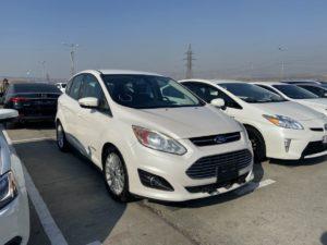 Ford C-Max Sel hybrid - 2013 White 2.0L