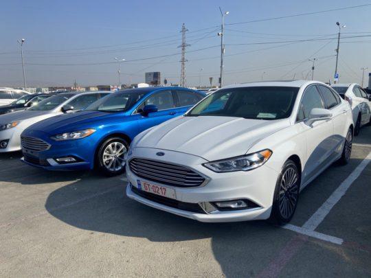 Ford Fusion Titanium - 2017 White 2.0L