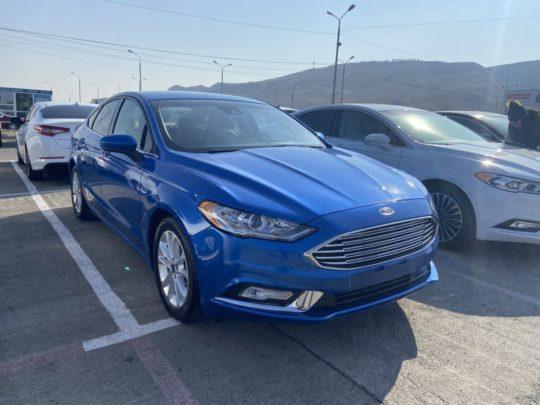 Ford Fusion Se - 2019 Blue 1.5L
