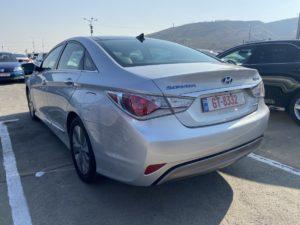 Hyundai Sonata Hybrid - 2014 Silver 2.4L
