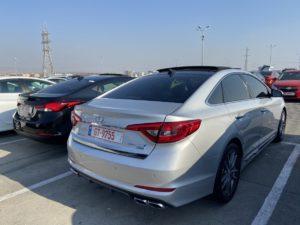 Hyundai Sonata  - 2015 Silver 2.0L