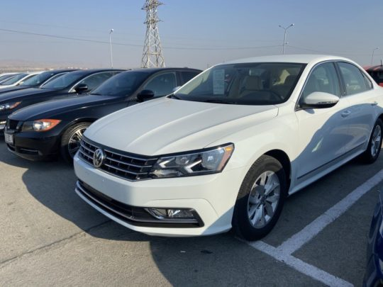 Volkswagen Passat S - 2017 White 1.8L 4